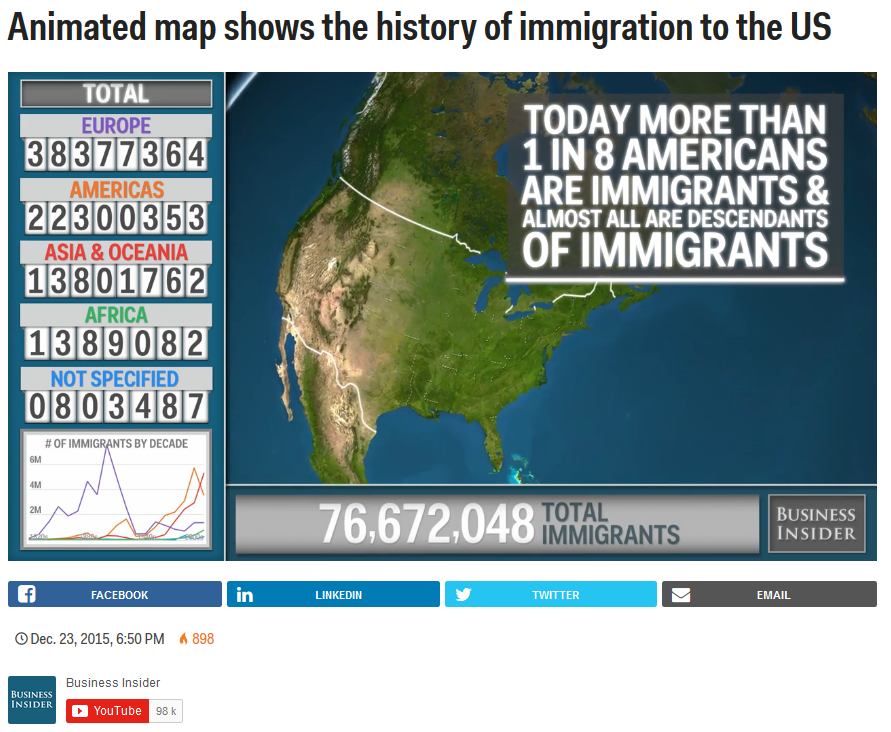 uk businessinsider com animated map shows the history of immigration to the us